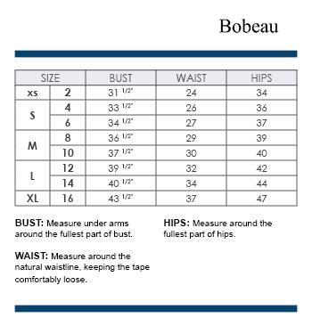 Bobeau Size Chart Finds For Fabulous Women