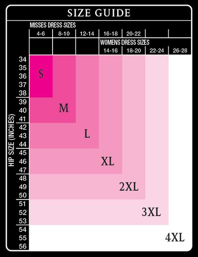 Maidenform Size Chart